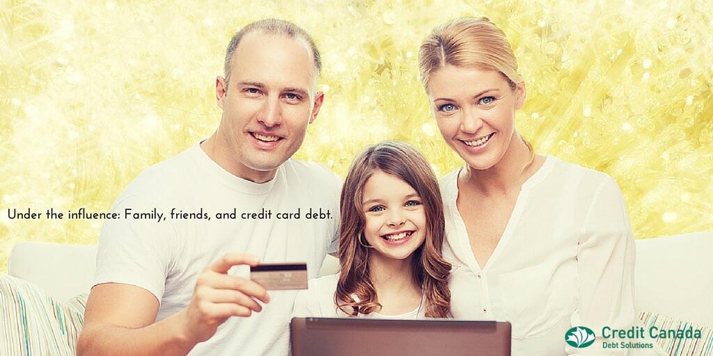 family debt habits