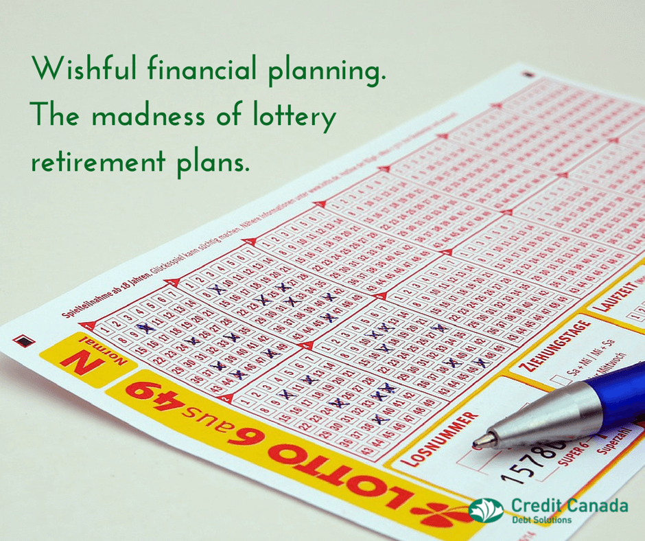 lottery winning funding retirement canadians