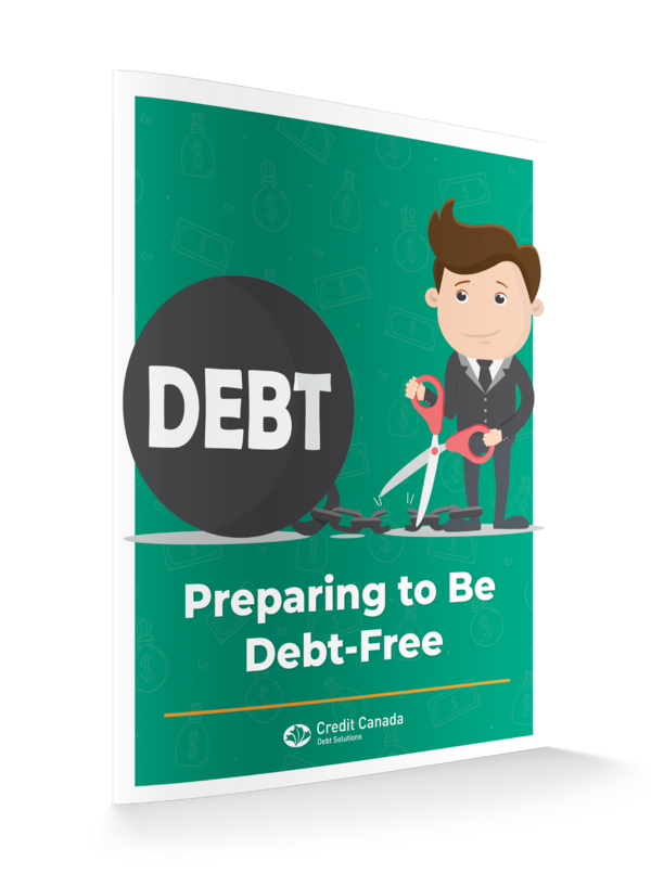 Preparing to be Debt Free Guide 3D Cover