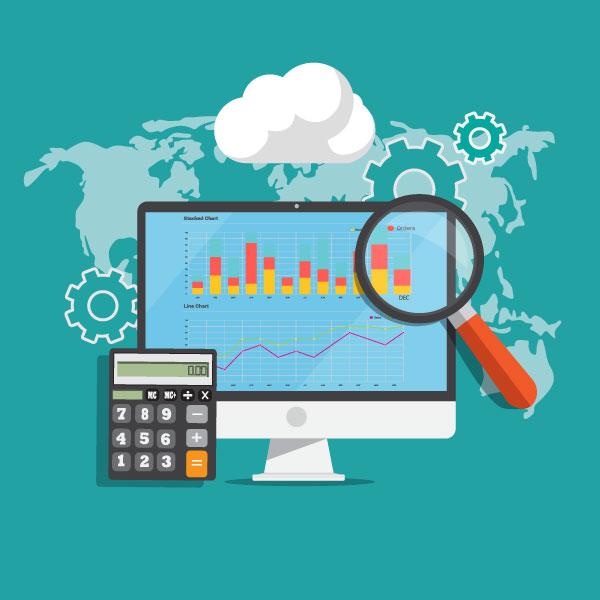 Financial Planning Concept Illustration